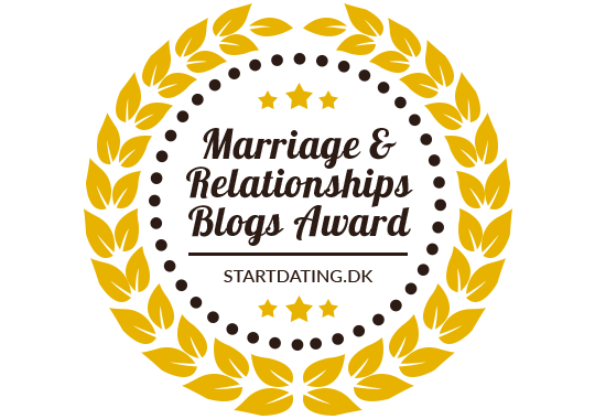 Banners for Marriage & Relationships Blogs Award